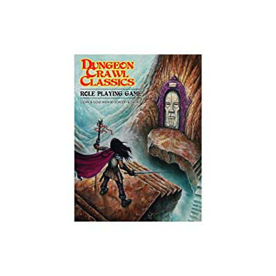 Goodman Games Dungeon Crawl Classics Role Playing Game, Softcover Edition: Toys & Games