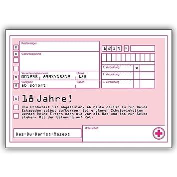 Geburtstagskarte Text 18.1 Geburtstagskarte Das Du Darfst Rezept Zum 18 Geburtstag