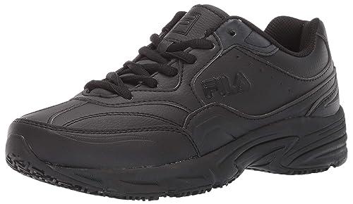 4daa54ab76 Fila Men's On The Job Slip Resistant Work Shoe Hiking