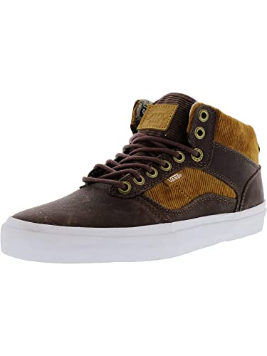 daab96cdfef1e Amazon.com | Vans Men's Bedford Duck Hunt Mid-Top Leather ...