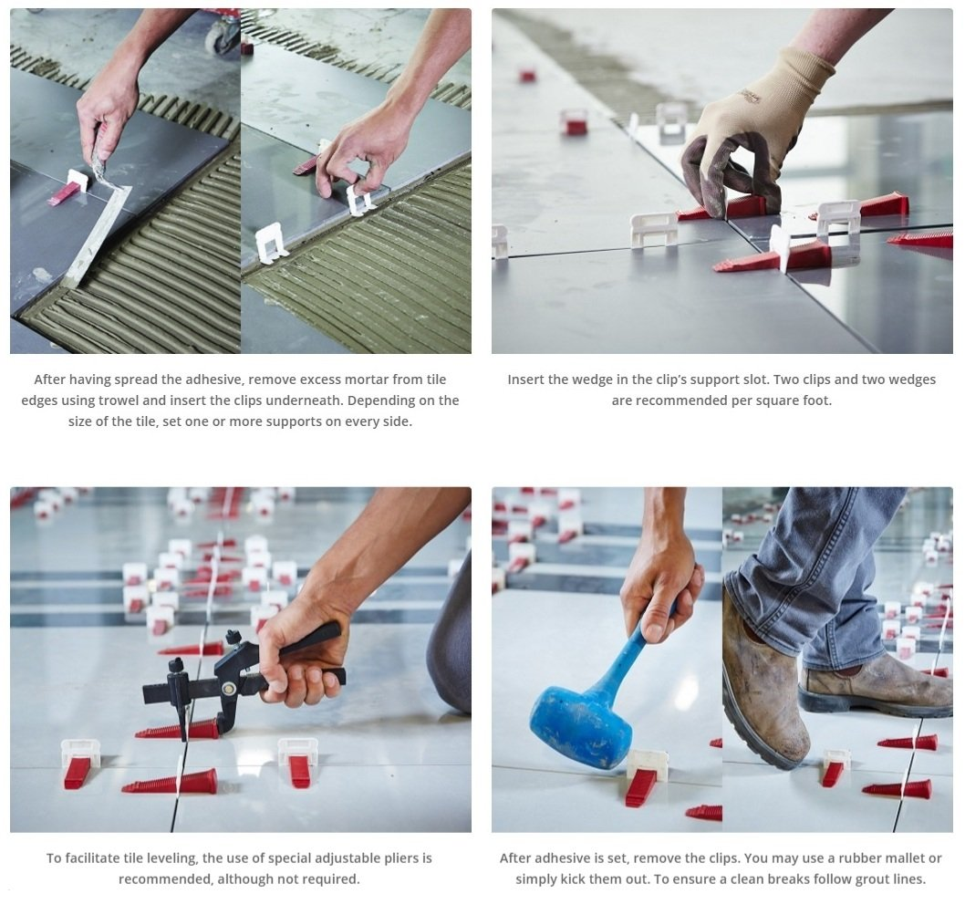 Tool Kit for T-Lock ™ tile leveling system by Perfect Level Master ™ - lippage free tile installation (leveling spacers and wedges not included) by Perfect Level Master ™ (Image #9)