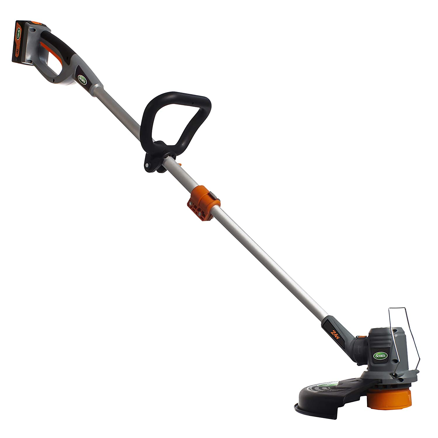 Scotts Outdoor Power Tools LST01324S 24-Volt 13-Inch Cordless String Trimmer, 2Ah Battery Fast Charger Included