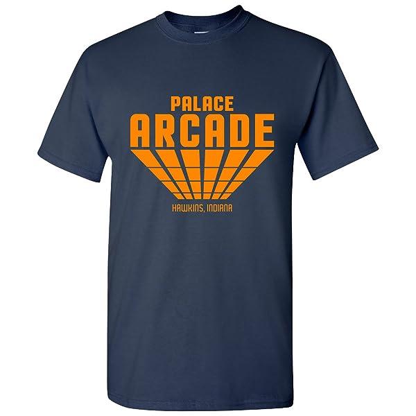 Palace Arcade Hawkins Indiana Gamer T Shirt