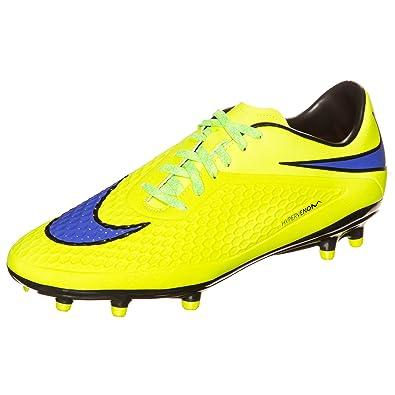 7763b62fca2e Nike Hypervenom Phelon FG Soccer Cleats (Volt/HOT Lava/Persian Violet) (