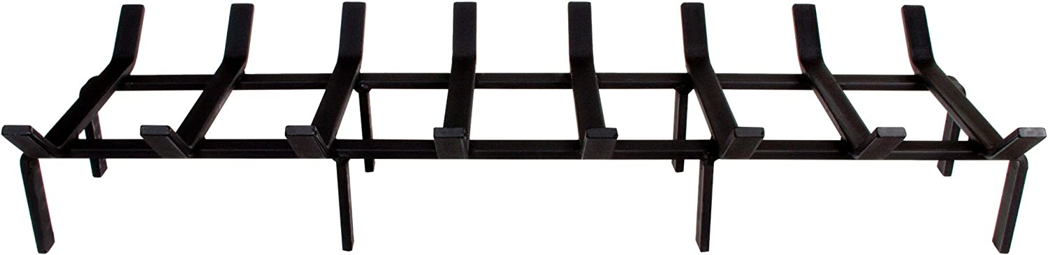 - Made in The USA Rectangular//Non-Tapered SteelFreak Heavy Duty Steel Fireplace Grate 15 Inch