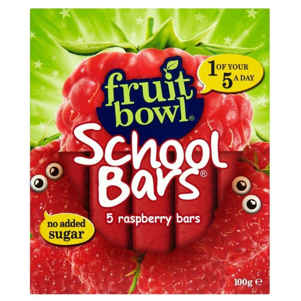 Fruit Bowl School Bars Raspberry (5x20g) - Pack of 2