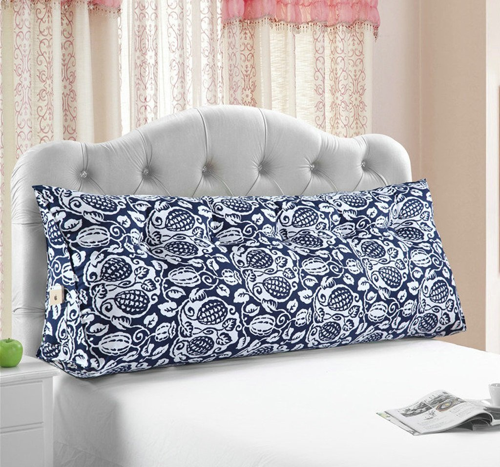 Triangle Cushion Full Pearl Cotton Cushions Pattern Bed Sofa Cushions/ Pillow(multi-color / Multi-size Optional) ( Color : A , Size : 12050cm )