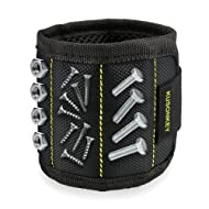 Magnetic Wristband, Kusonkey 15 Magnets Holding Screws Nails Drill Bits Gifts Gadgets Tools Gift for