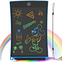 GUYUCOM Tableta de Escritura LCD, Tablero de Dibujo electrónico de 8.5 Pulgadas - Tablero de Grafiti de con Bloqueo de…