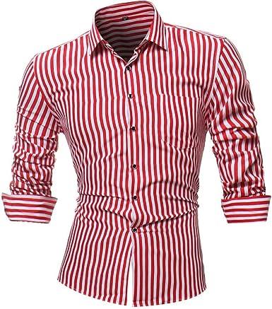 Camisa A Rayas De Personalidad Y Hombre para Impreso Mode De Marca Camisas De Hombre Delgadas