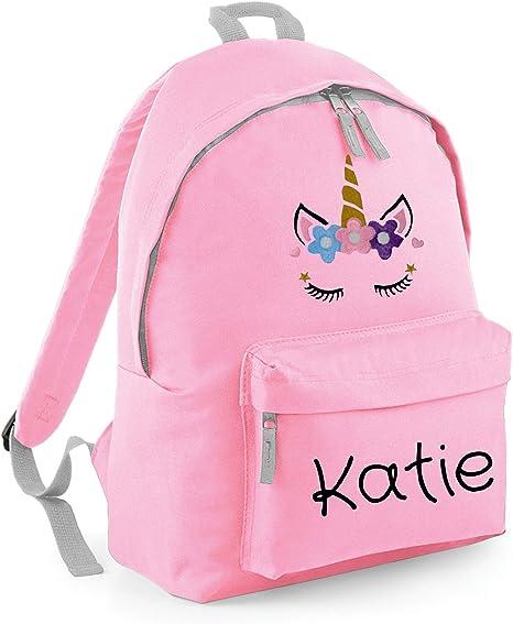 Any Name Embroidered Pink Personalised PE Bag Gym Bag Girls School Bag