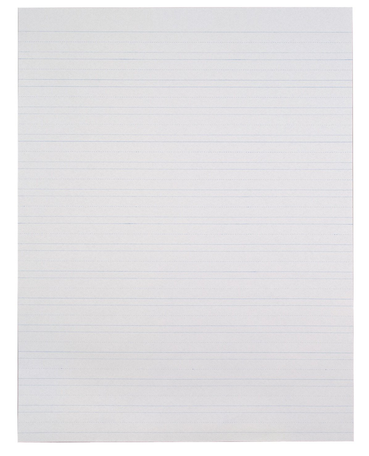 School Smart Primary Chart Paper, Skip-A-Line, 24 x 32 Inches, White, 500 Sheets