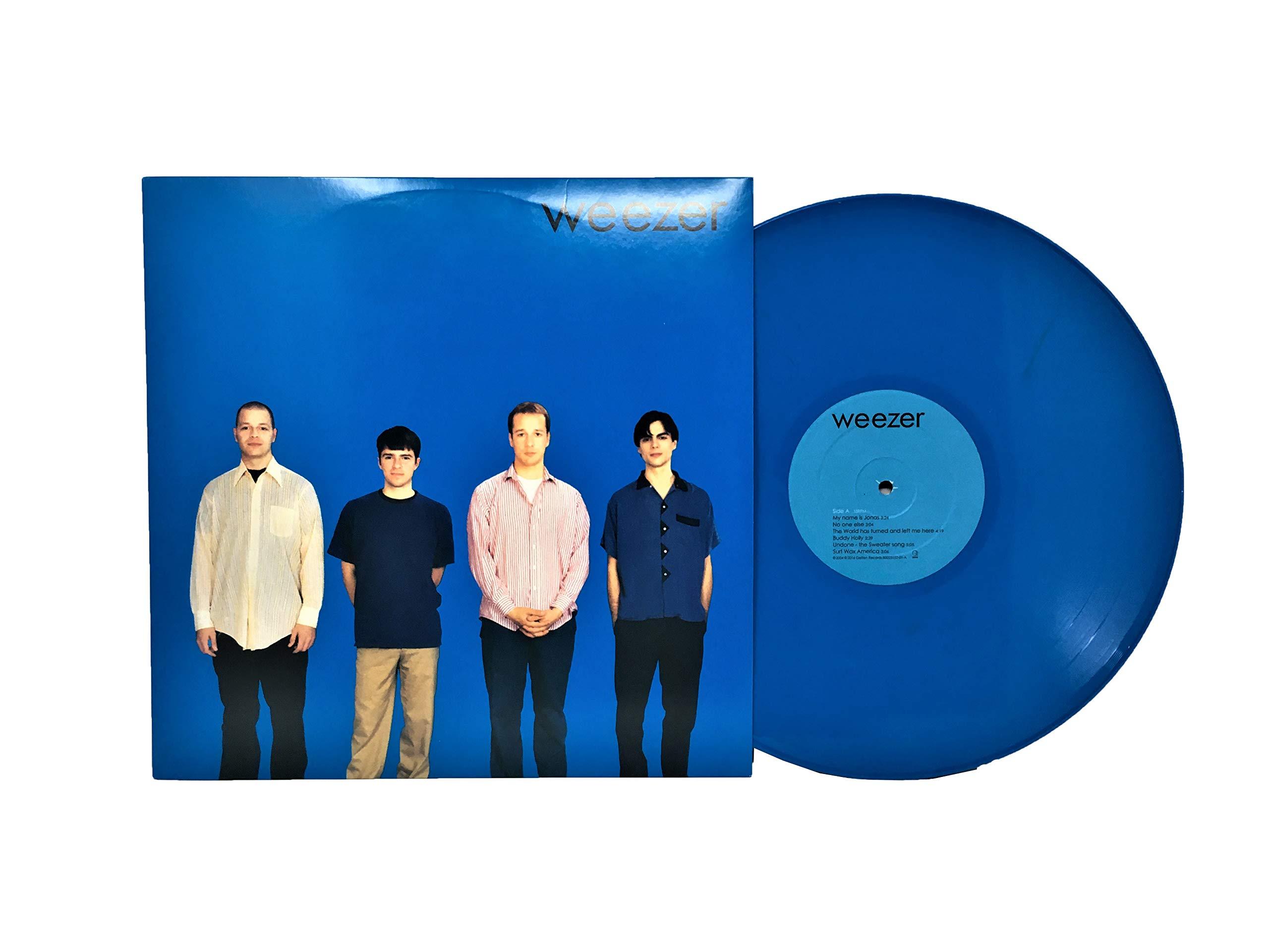 Weezer (Blue Album) Exclusive Blue Color Vinyl by Geffen