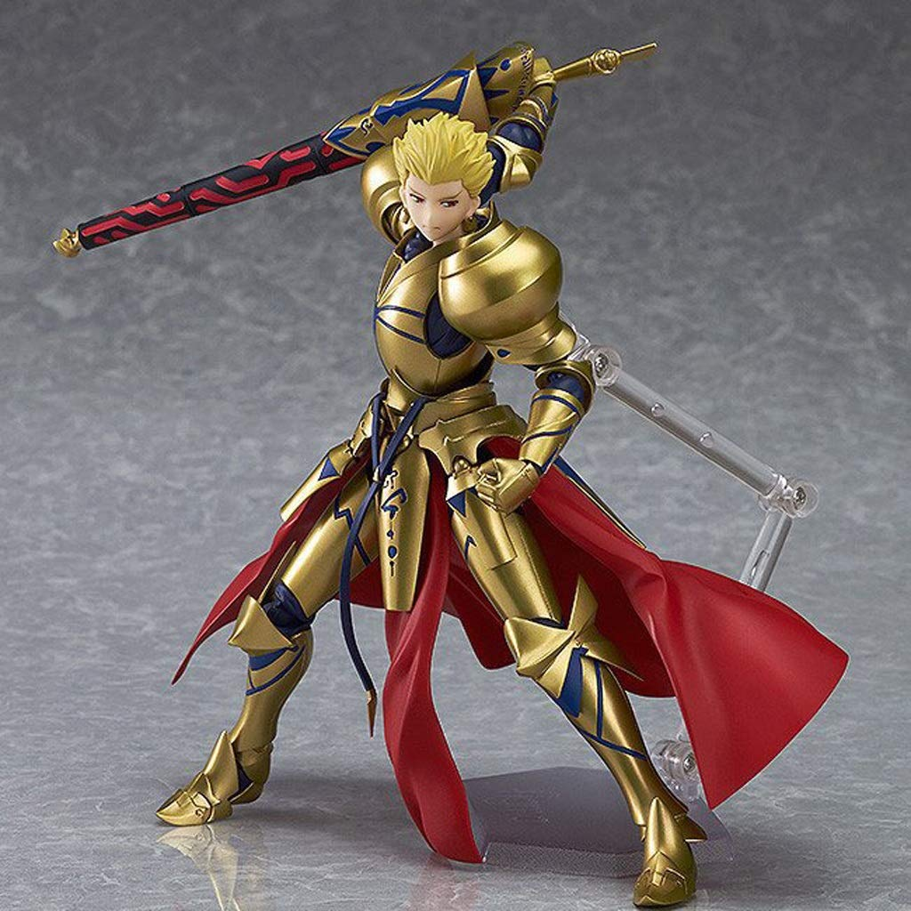 NYDZDM Spielzeugmodell fertigt Heldkönig-Goldkampfversion Anime-Spielzeugkomponentenmodell an