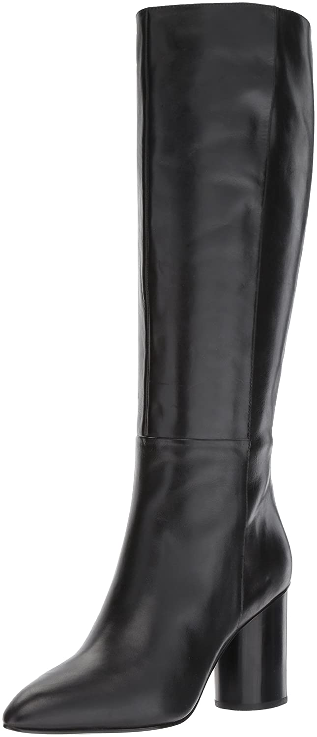 Nine West Women's Christie Knee High Boot B01N18NZC5 10 B(M) US|Black Leather