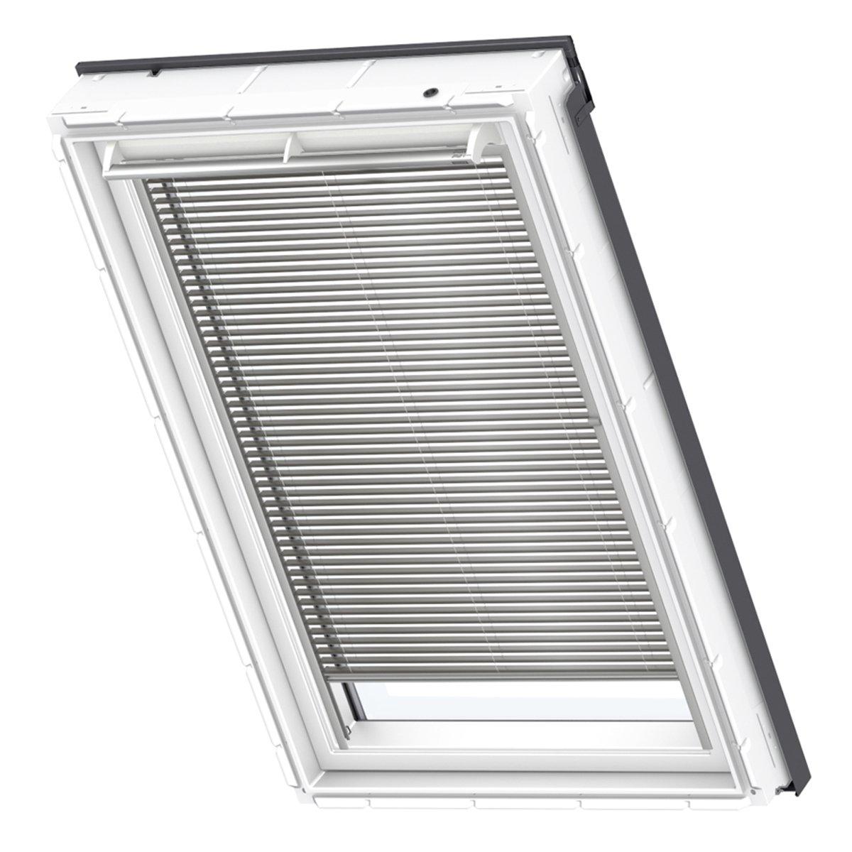 VELUX Original Jalousie Dachfenster, PK08, Uni Grau