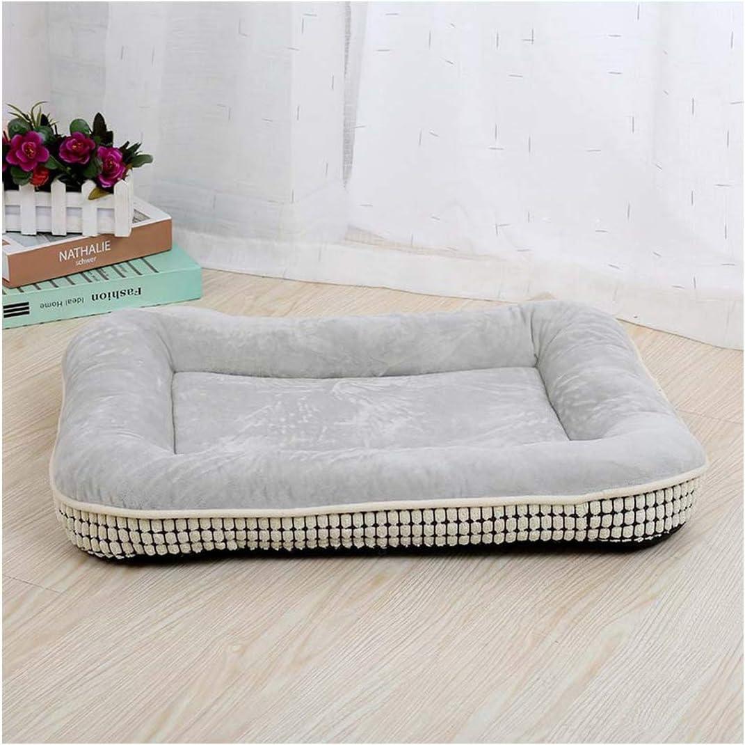 Car Dog Bed Mat Pet Cushion Summer Small Large Dogs Cooling Mats Puppy Cat Fleece Beds Cats Beds Pad,Grey,55X75 cm
