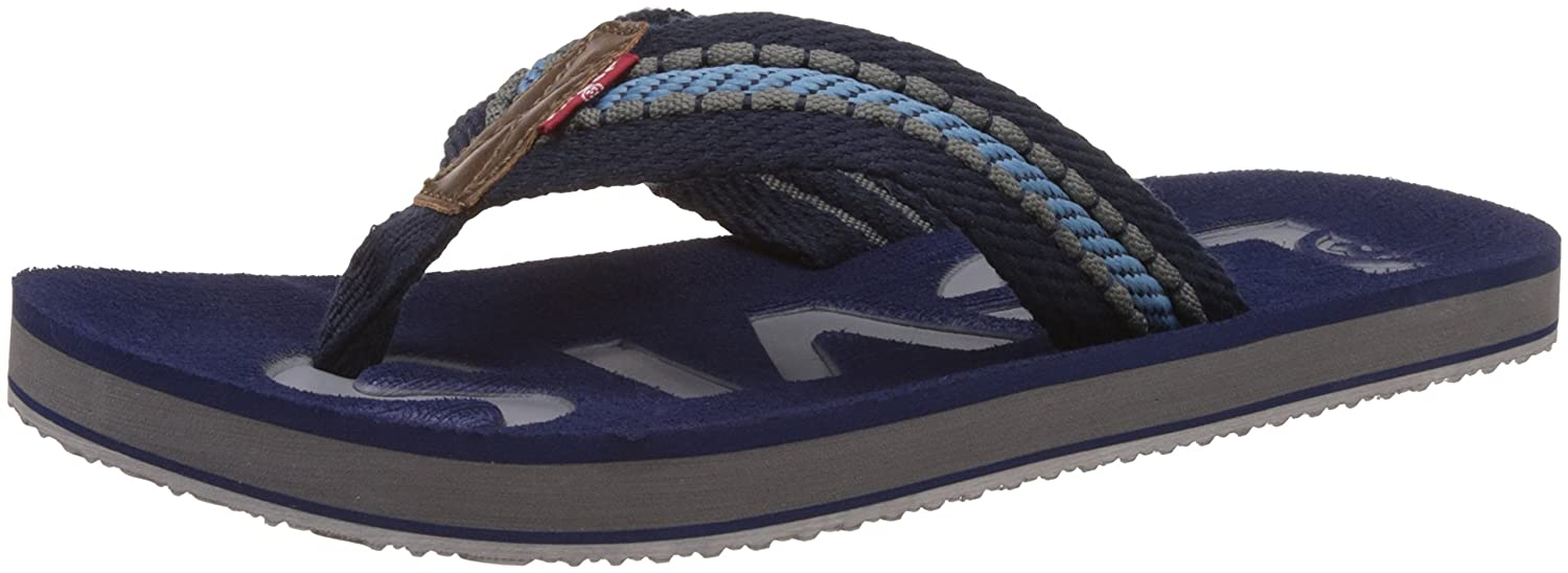 9e52fa8837a Levi s Men s Blue Flip Flops Thong Sandals - 10.5 UK India (45 EU)  Buy  Online at Low Prices in India - Amazon.in