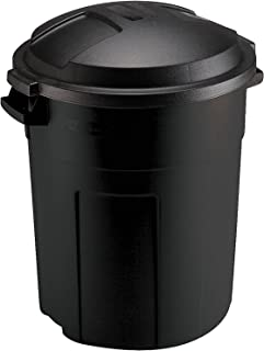 product image for Rubbermaid Can, 20-Gallon, Black
