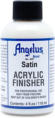 Angelus Acrylic Leather Paint Satin Finisher #605-4 Ounces