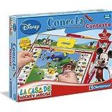 Clementoni- Conecta-Contesta La casa de Mickey Mouse