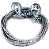 Benjoy Car Auto Full Steel Towing Tow Cable Rope Heavy Duty Ton 4 Mtr for Mahindra Xylo