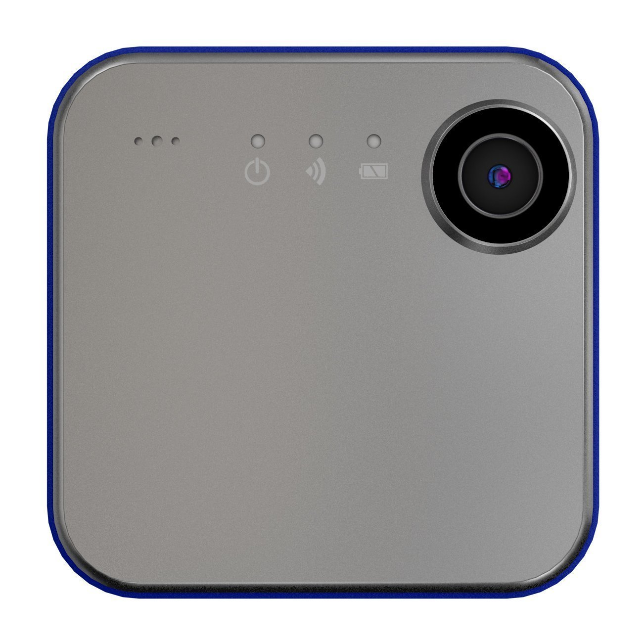 iON Camera SnapCam Wearable HD Camera with Wi-Fi and Bluetooth (Silver) 1050