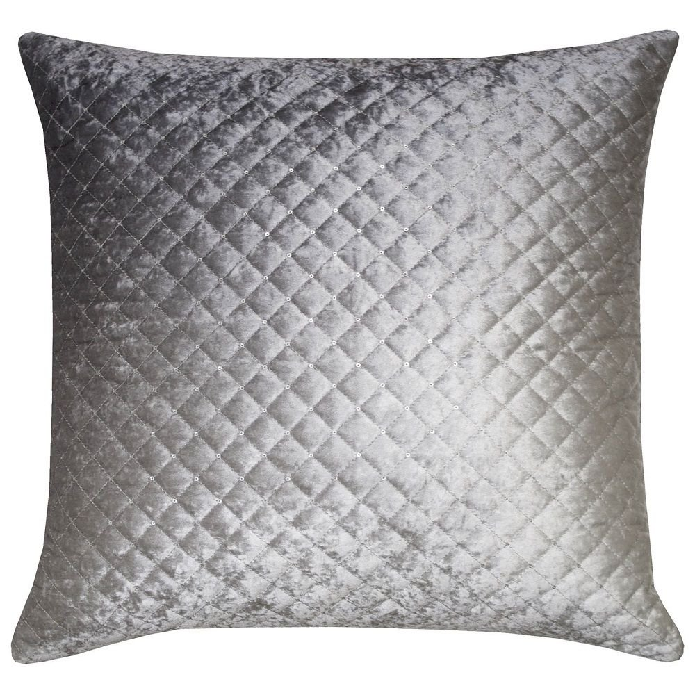 Kylie Minogue Luxury Filledクッション 55cm x 55cm Does Not Apply B079ZYR9M9  Silver Grey - Gia 55cm x 55cm