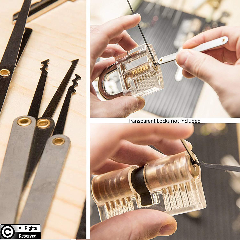 Stainless Steel MZG-story Stainless Steel Multitool Lock Set