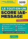 Le Tout-en-un Score IAE-Message - SIM 2019
