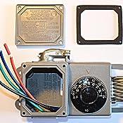 Peco TF115-001 NEMA 4X Line Voltage Thermostat, Gray