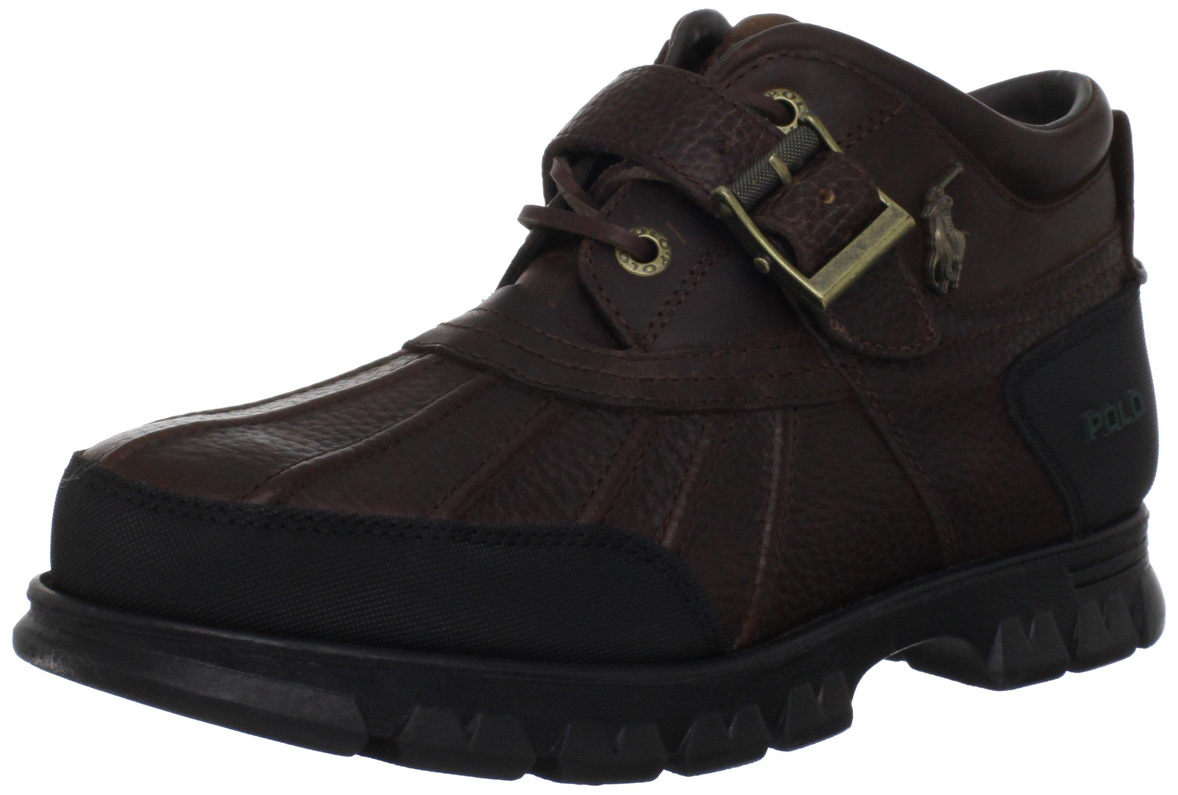 Polo Ralph Lauren Men's Dover III Hiking Boot, Mid Brown/Mid Brown, 12 D US
