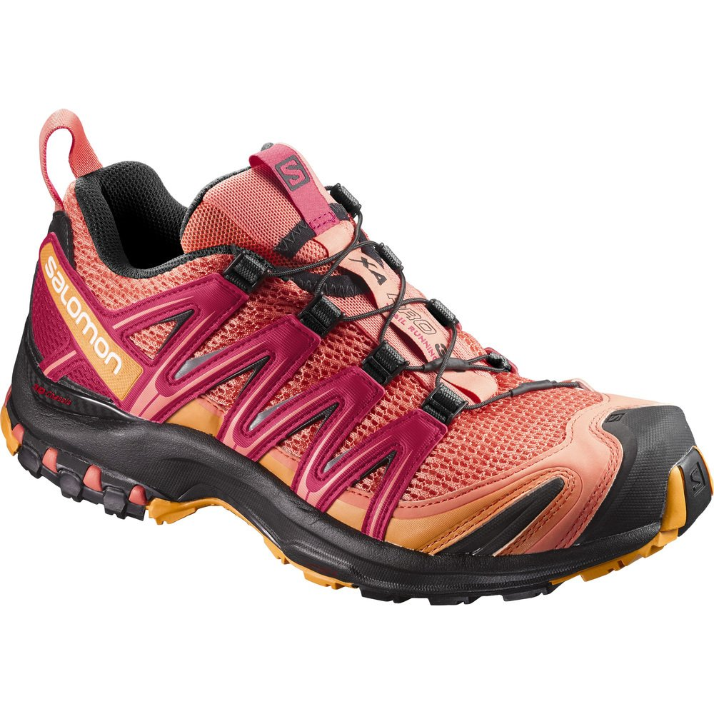Salomon Xa Pro 3d Trail Running Shoes Living Coralblack