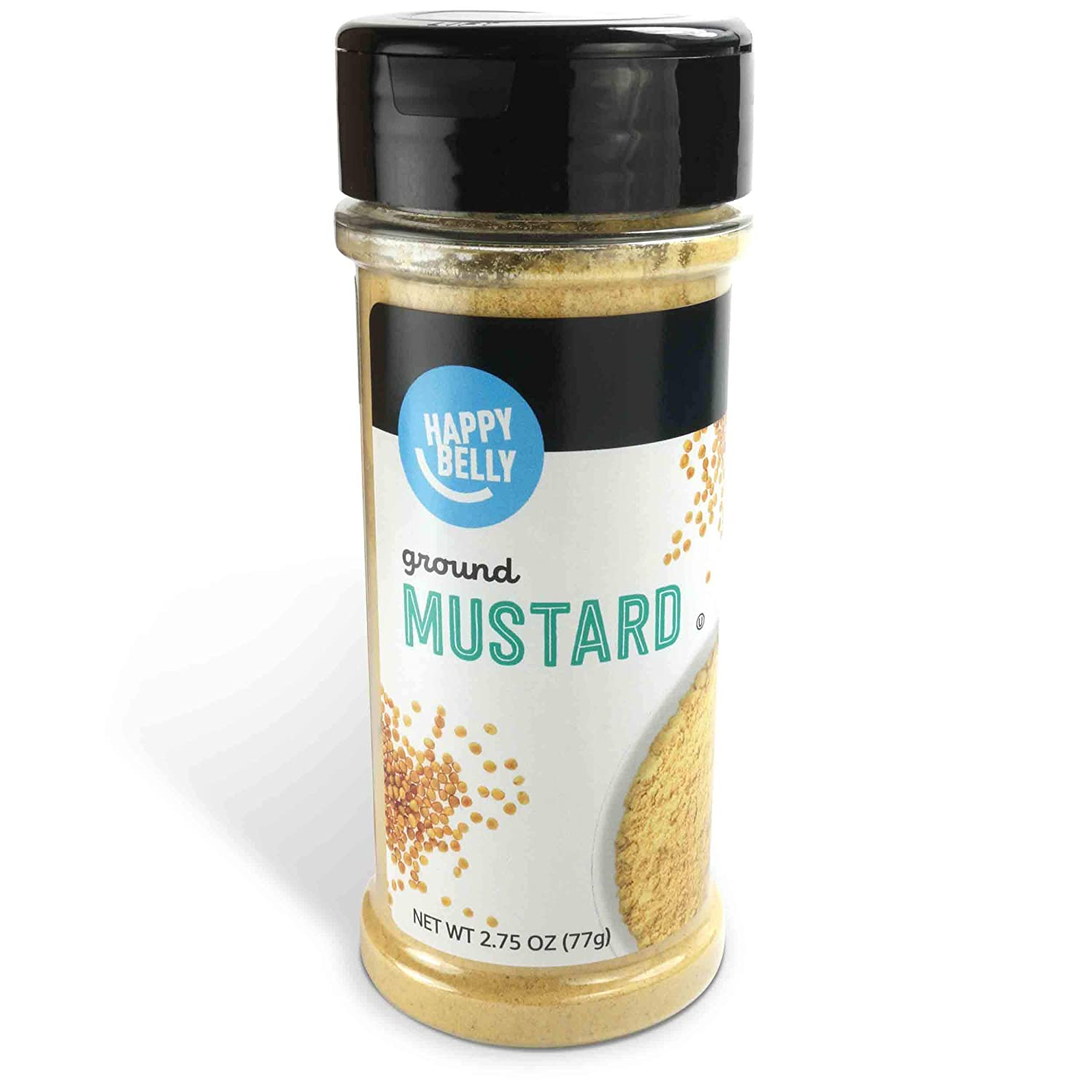 Amazon Brand - Happy Belly Ground Mustard, 2.75 Ounces