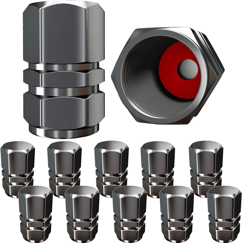 Tire Valve Caps 4Pcs//Lot Universal Car Wheel Tire Valve Stem Cap Shining Proof Air Protection Dustproof Cap Set 0.70.6in Pink