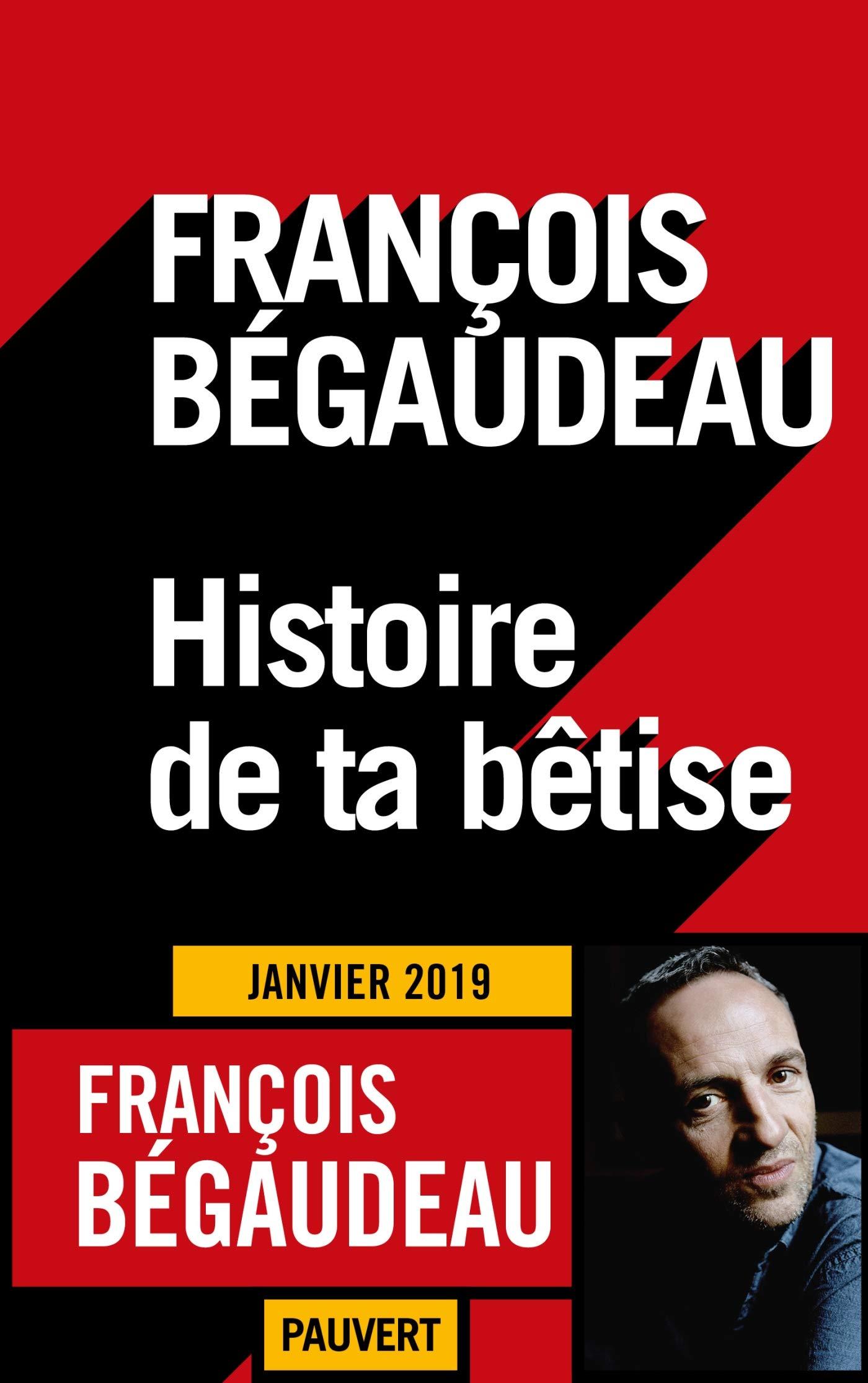 Histoire de ta bêtise por François Bégaudeau
