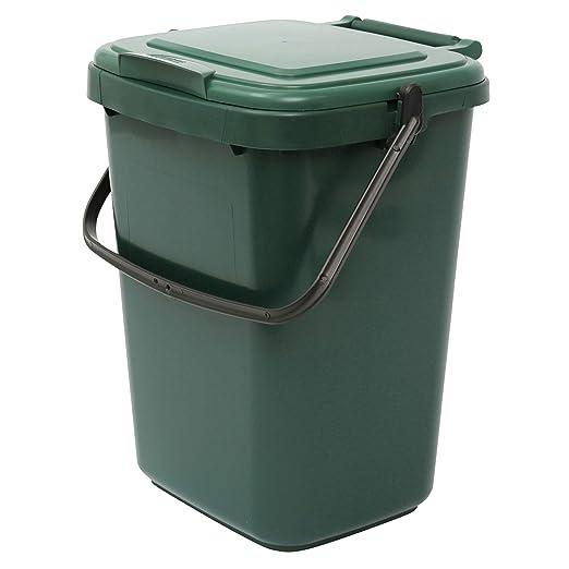 Cubo para compost grande, verde, de cocina, para reciclaje ...