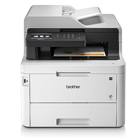 Brother Impresora Laser Couleur  silencieuse  Connexion Ethernet  wi-fi Blanco 3700