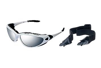 Alpland Polarisierende Radbrille - Gletscherbrille - Skibrille -Triathlon Inklusive Softbag Sf 3 Polarisierende Gläser yayYtyhfF