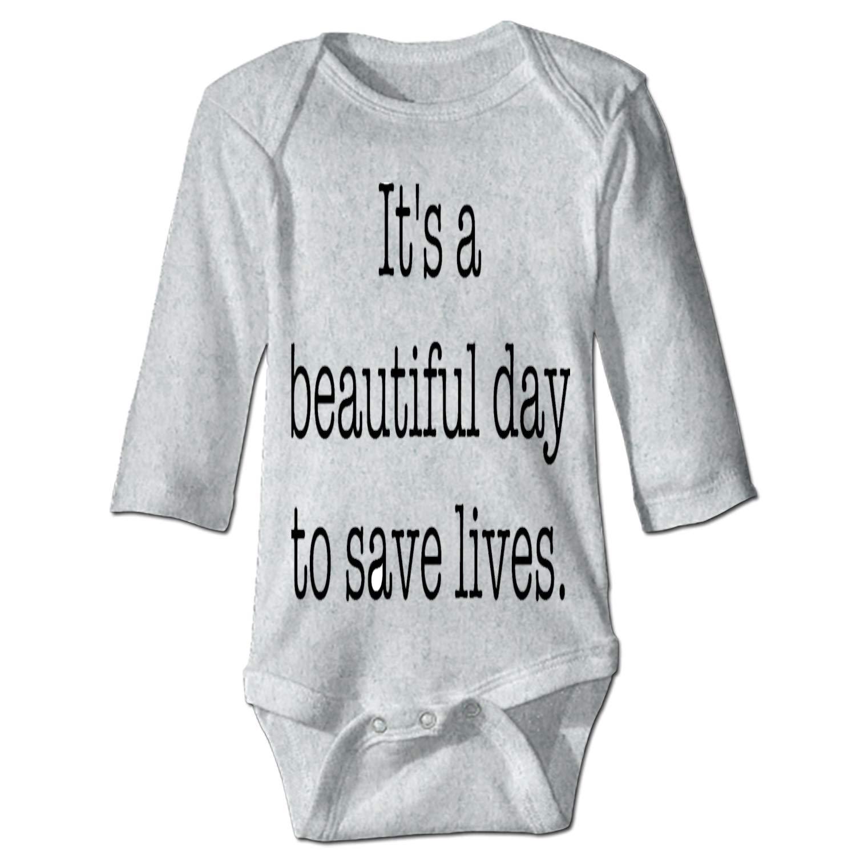 farg Beautiful Day Unisex Baby Bodysuits Long Sleeve 100/% Cotton