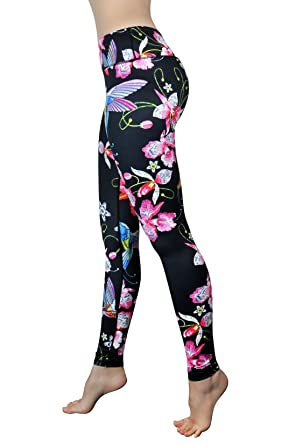 58f9d886f11b99 Comfy Yoga Pants – Printed Yoga Leggings - Women s Athletic Leggings -  Sport Workout Leggings