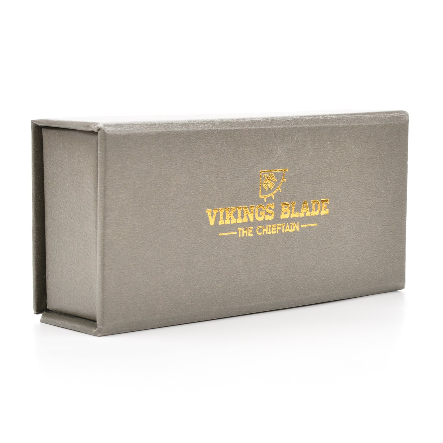 VIKINGS BLADE The Chieftain Safety Razor + Swedish Platinum Super Blades + Carry Case by Vikings Blade (Image #7)