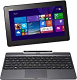 ASUS Transformer Book T100 10.1-inch 2-in-1 Convertible Netbook (Intel Atom Z3740 1.33GHz Processor, 32GB SSD, 2GB DDR3, Intel HD Graphics, Touchscreen, SDXC Card Reader, USB 3.0, Micro HDMI, Windows 8.1)