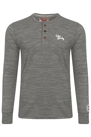 61b6b02c047d Tokyo Laundry - T-Shirt à manches longues - Chemise - À Rayures - Col