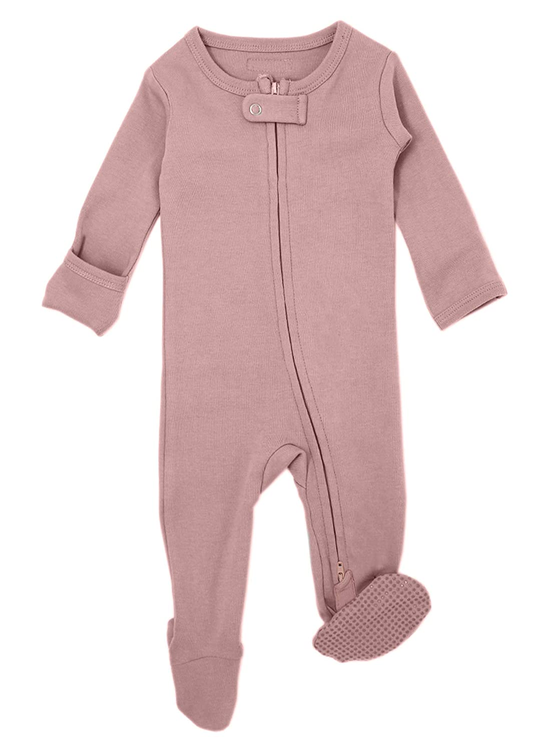 Lovedbaby Unisex Baby Organic Zippered Footed Overall