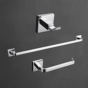 Amazon Com Y L Wall Mount Solid Brass Stainless Steel Chrome