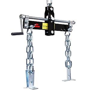 Hawk Tools 680kg Heavy Duty Adjustable Car Van Vehicle Engine Crane Tilt Load Swing Level Leveler Weight Distribution Hoist