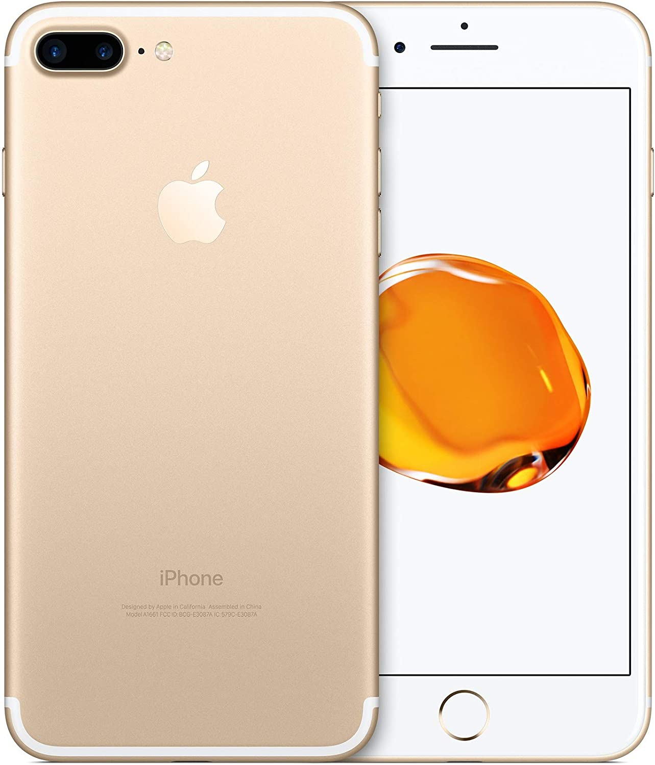 Amazon Com Apple Iphone 7 Plus 32gb Gold For Verizon Renewed