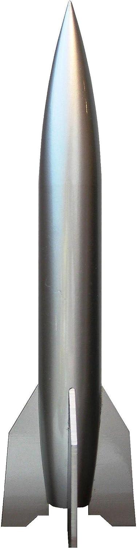 Arlington Mall Rocket A4 V2 - Basic Omaha Mall Model Silver