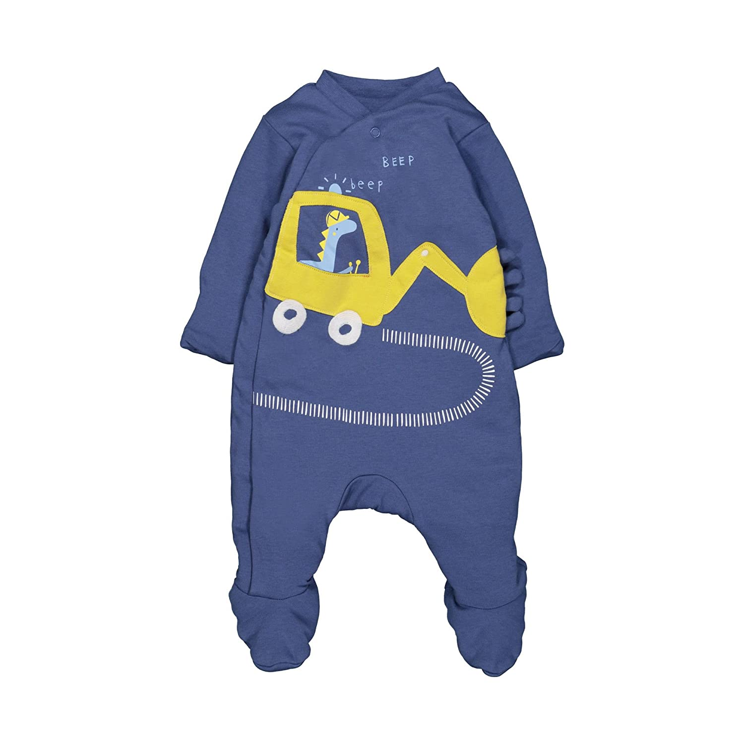 Mothercare Baby-Jungen Bademantel Boys Wadded Little Truck QB049